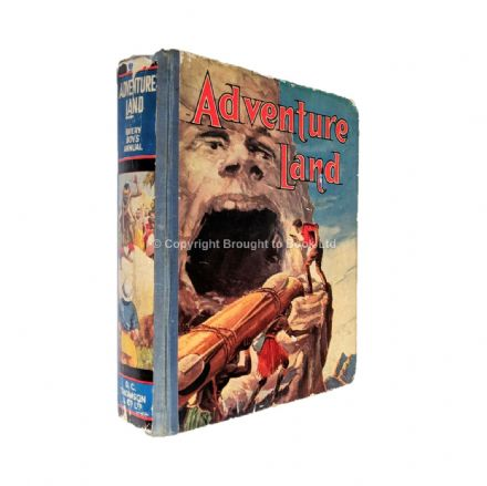 Adventure Land Annual 1938 D.C Thomson